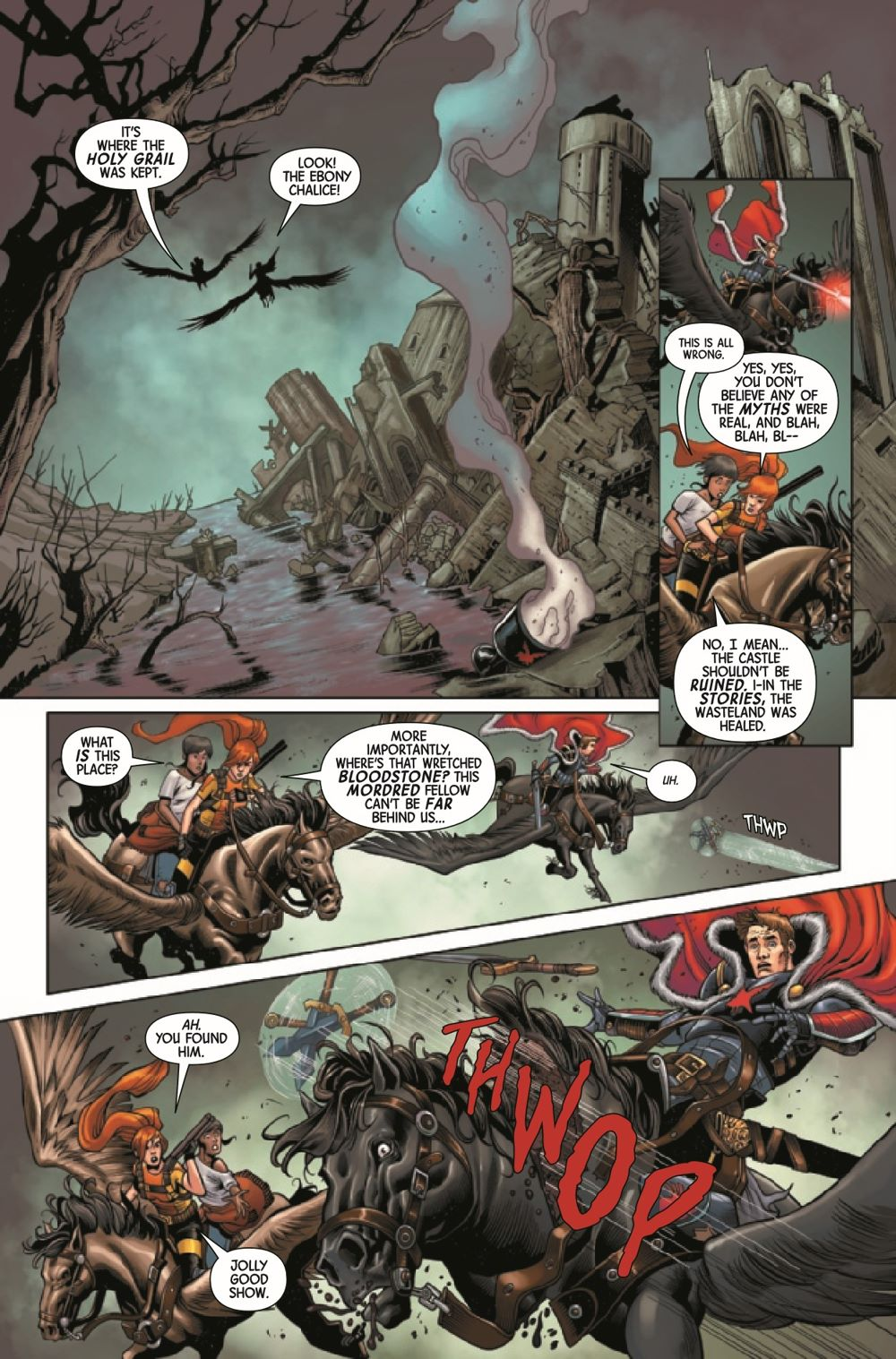 BLKKNGHTCURSE2021003_Preview-3 ComicList Previews: BLACK KNIGHT CURSE OF THE EBONY BLADE #3 (OF 5)