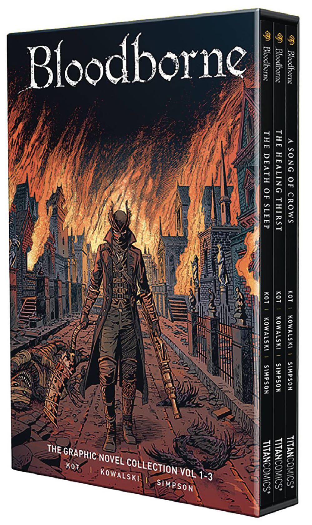 BLOODBORNE-BOXED-SET Titan Comics August 2021 Solicitations