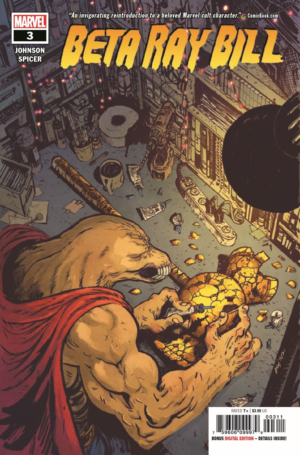 BRBILL2021003_Preview-1 ComicList Previews: BETA RAY BILL #3 (OF 5)