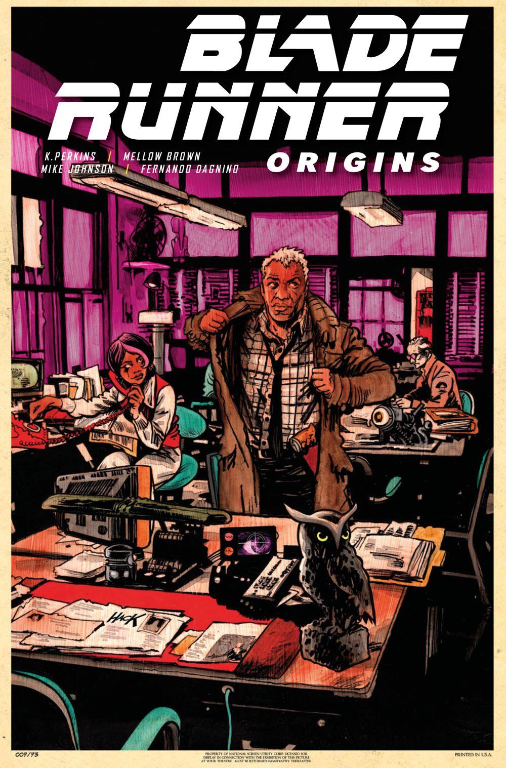 BladeRunnerOrigins_5C_HACK Titan Comics August 2021 Solicitations