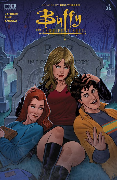 Buffy_025_Cover_B_Variant ComicList: BOOM! Studios New Releases for 05/12/2021