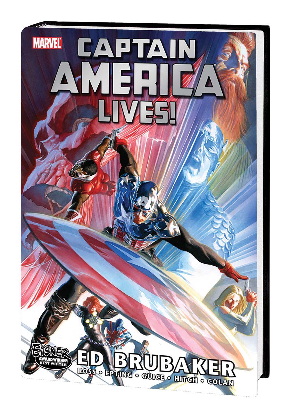 CAPLIVES_OMNIBUS_HC_ROSS Marvel Comics August 2021 Solicitations