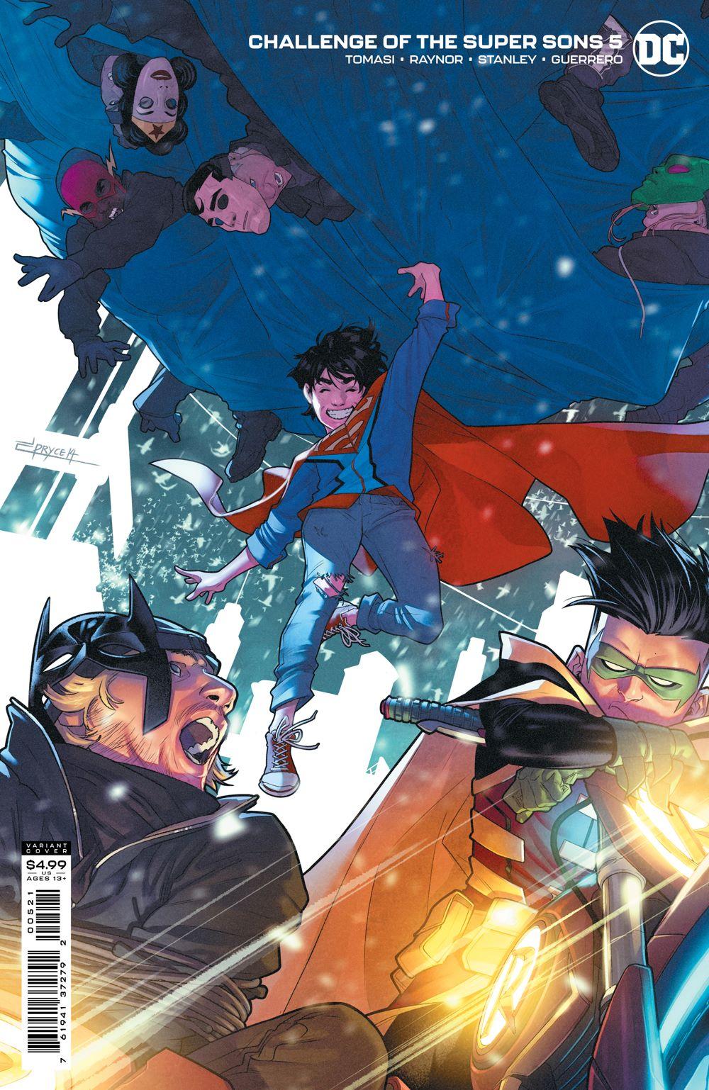 COTSuperSons_Cv5_var_00521 DC Comics August 2021 Solicitations