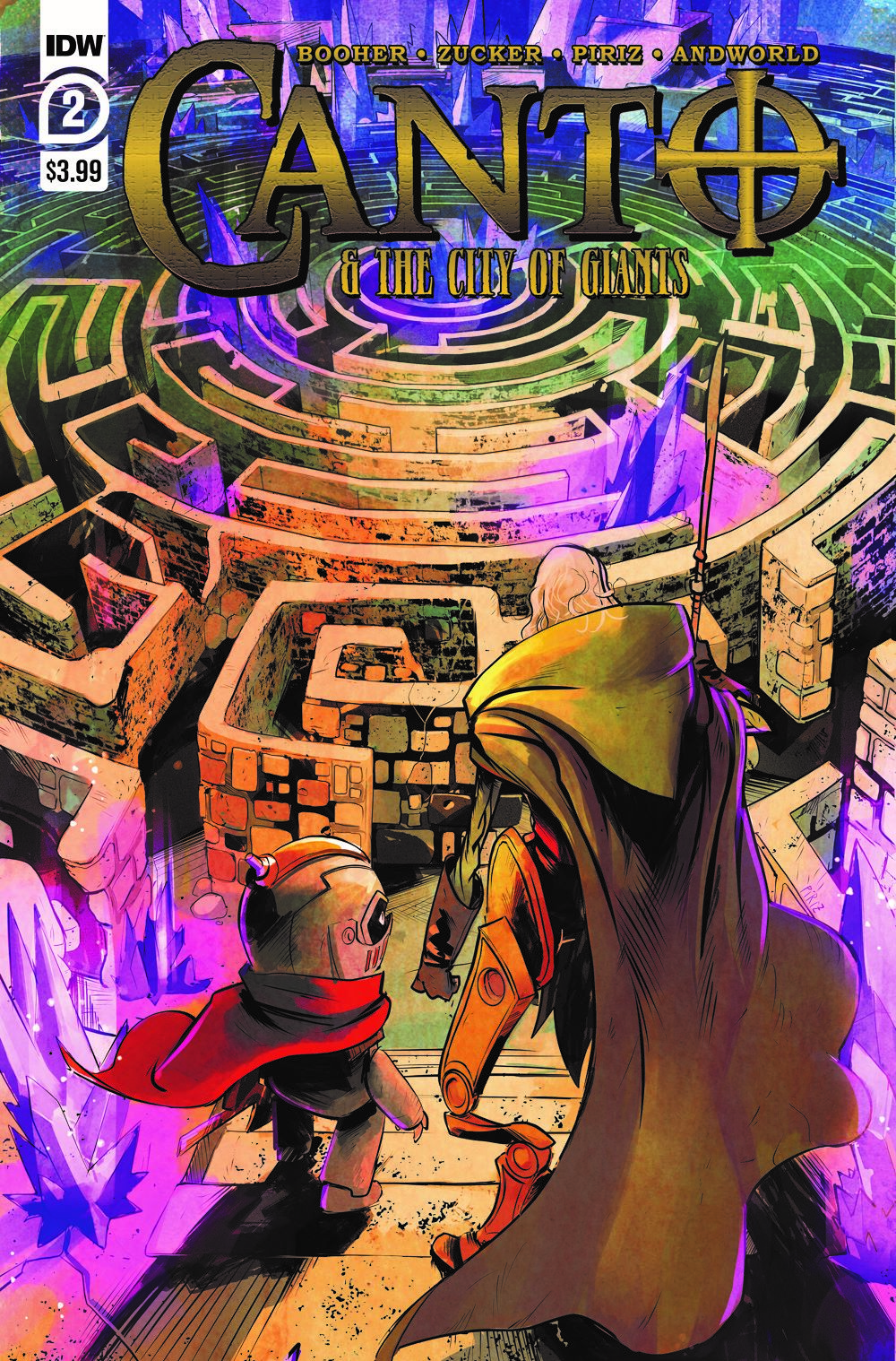Canto-CoG02_cvrA ComicList: IDW Publishing New Releases for 05/12/2021