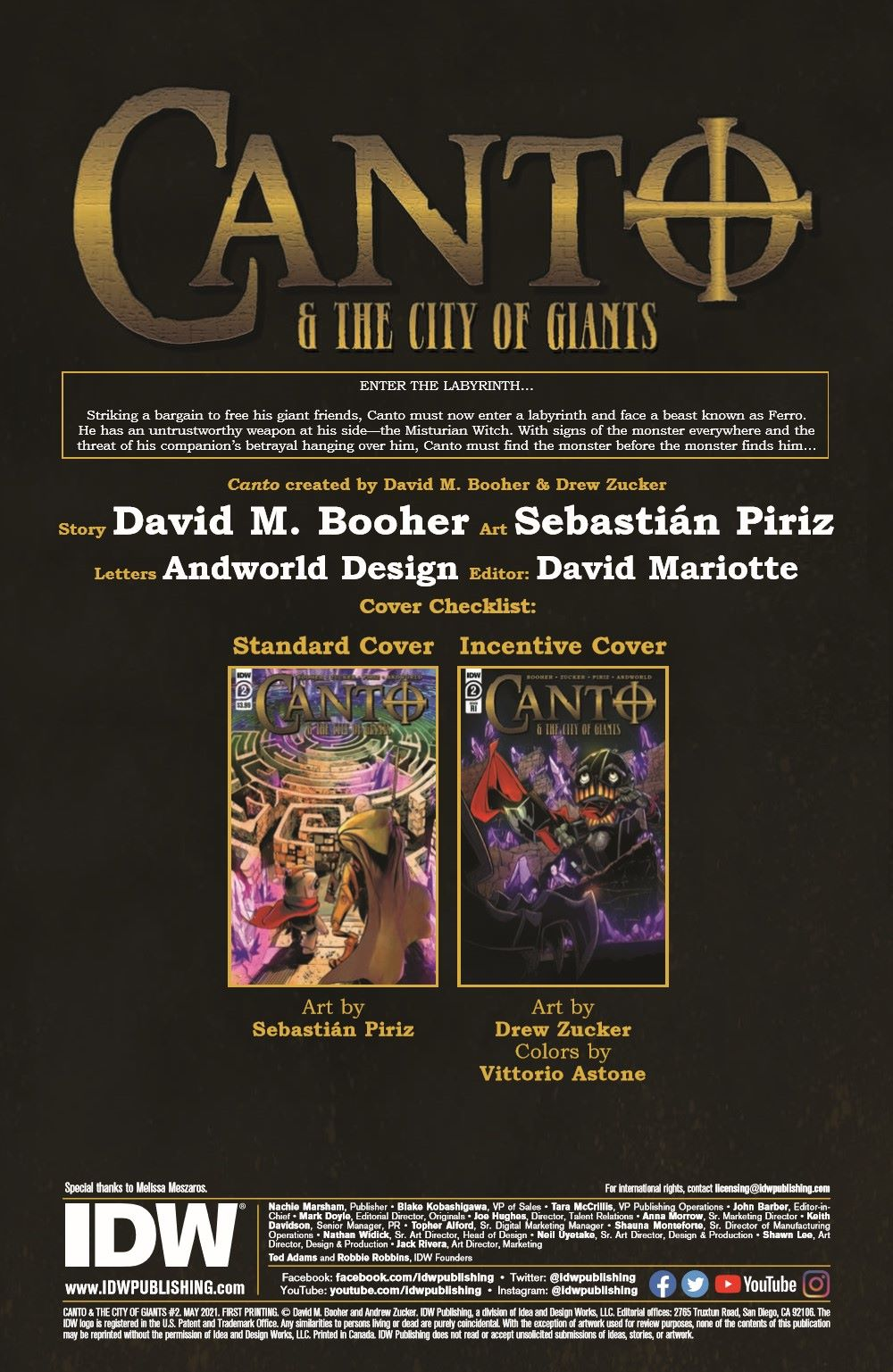 Canto-CoG02_pr-2 ComicList Previews: CANTO AND THE CITY OF GIANTS #2 (OF 3)