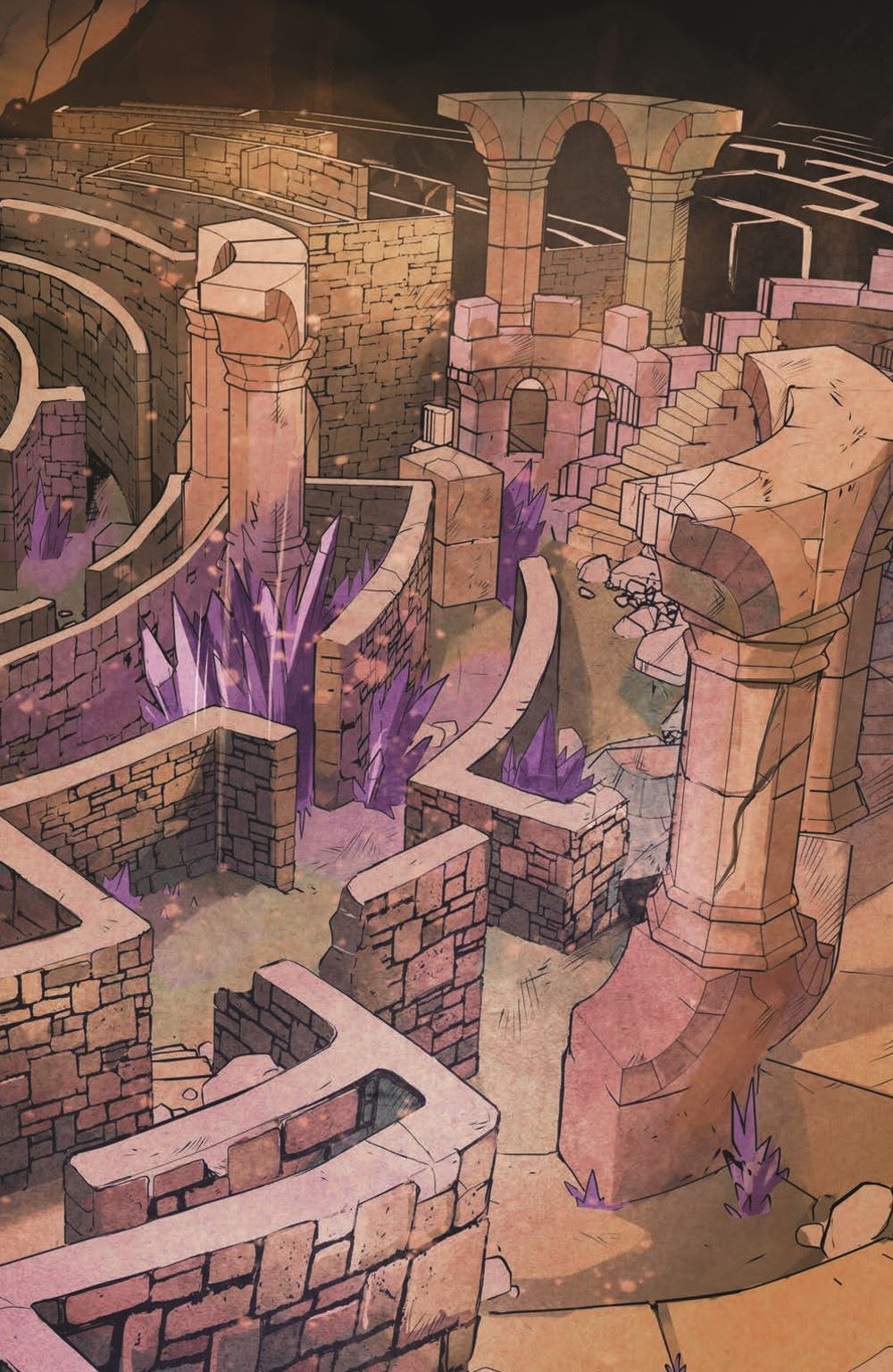 Canto-CoG02_pr-5 ComicList Previews: CANTO AND THE CITY OF GIANTS #2 (OF 3)