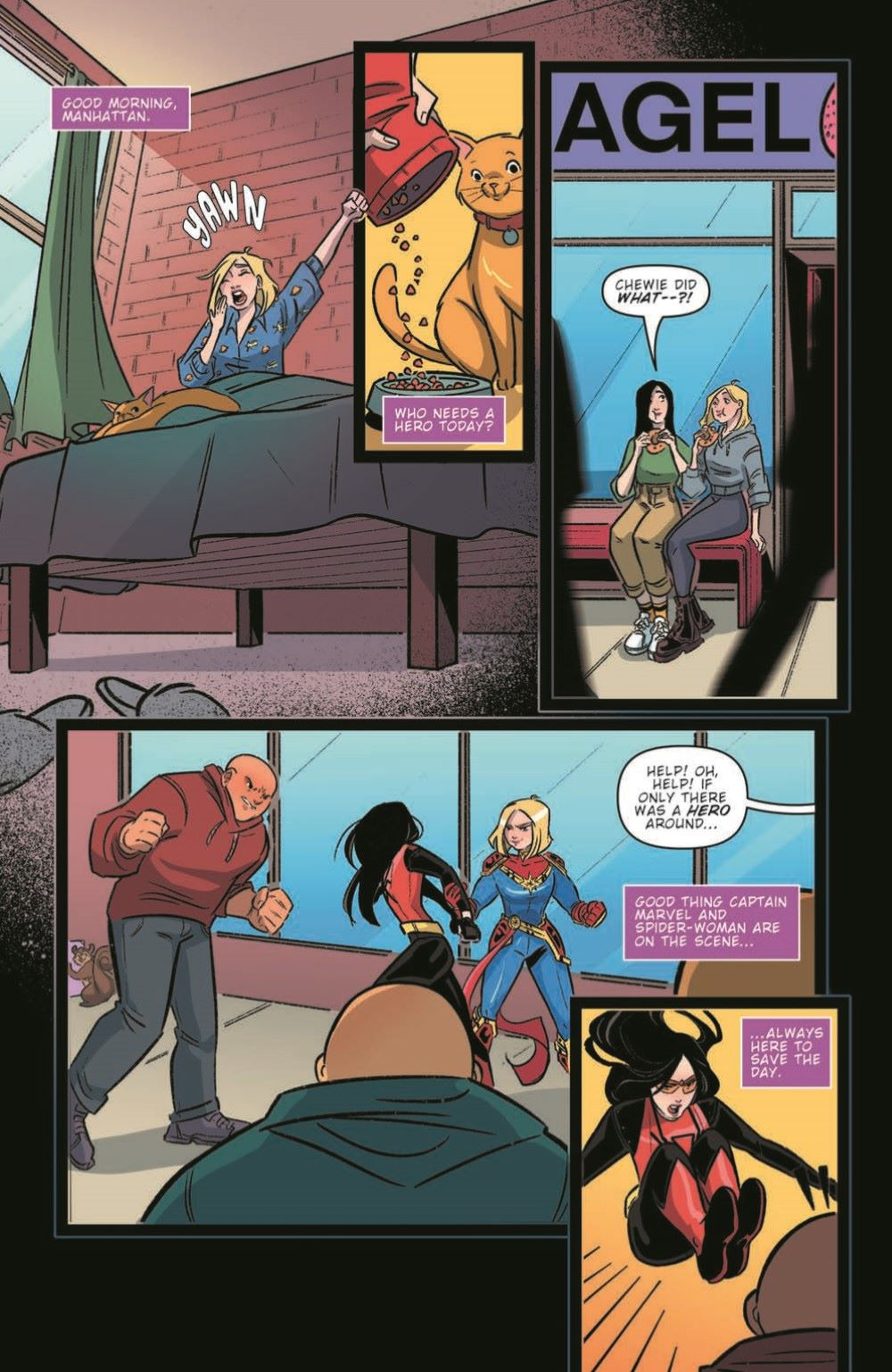 CaptainMarvel2_03_pr-6 ComicList Previews: MARVEL ACTION CAPTAIN MARVEL VOLUME 2 #3