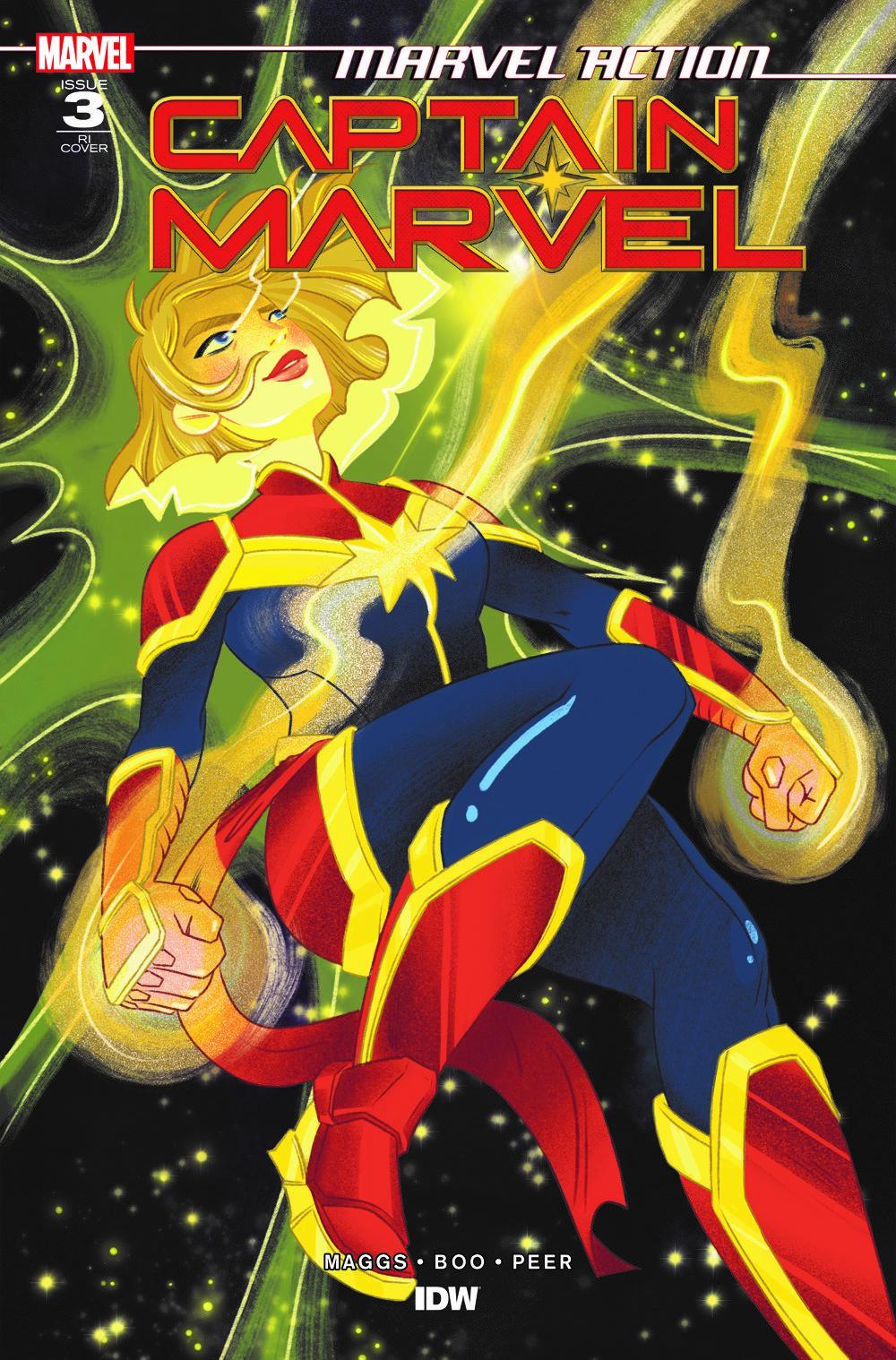 CaptainMarvel_RIcvr_03 ComicList Previews: MARVEL ACTION CAPTAIN MARVEL VOLUME 2 #3