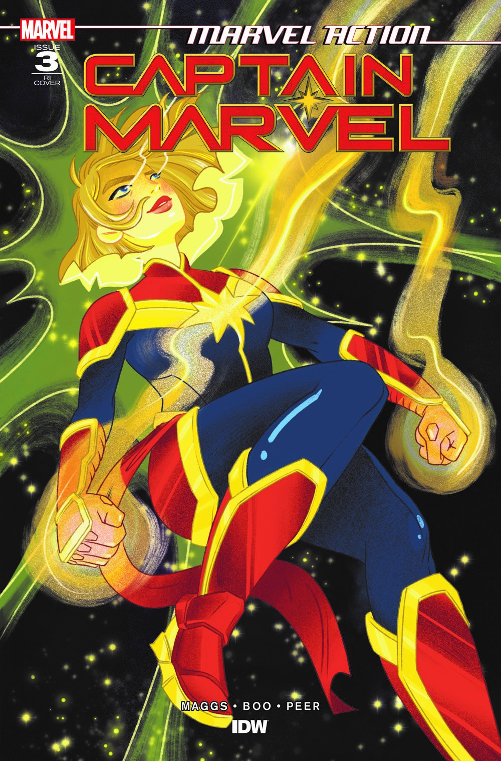 CaptainMarvel_RIcvr_03 ComicList: IDW Publishing New Releases for 05/26/2021