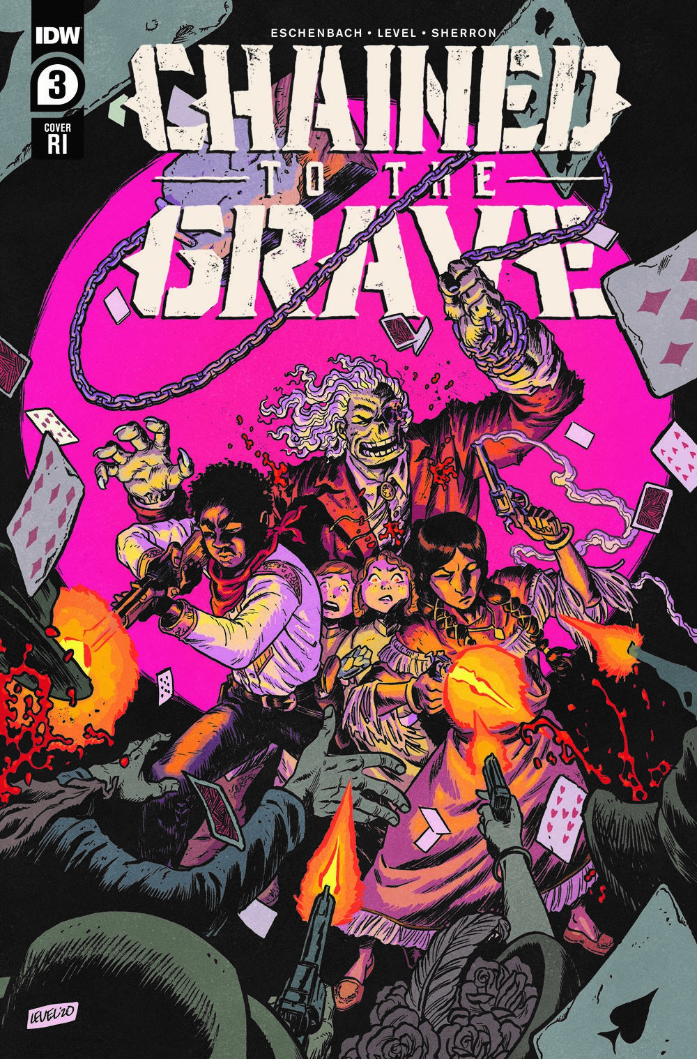 ChainedTTGrave03-coverRI ComicList Previews: CHAINED TO THE GRAVE #3 (OF 5)