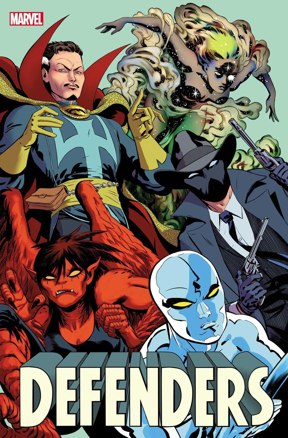 DEFENDERS2021001_cvr Marvel Comics August 2021 Solicitations