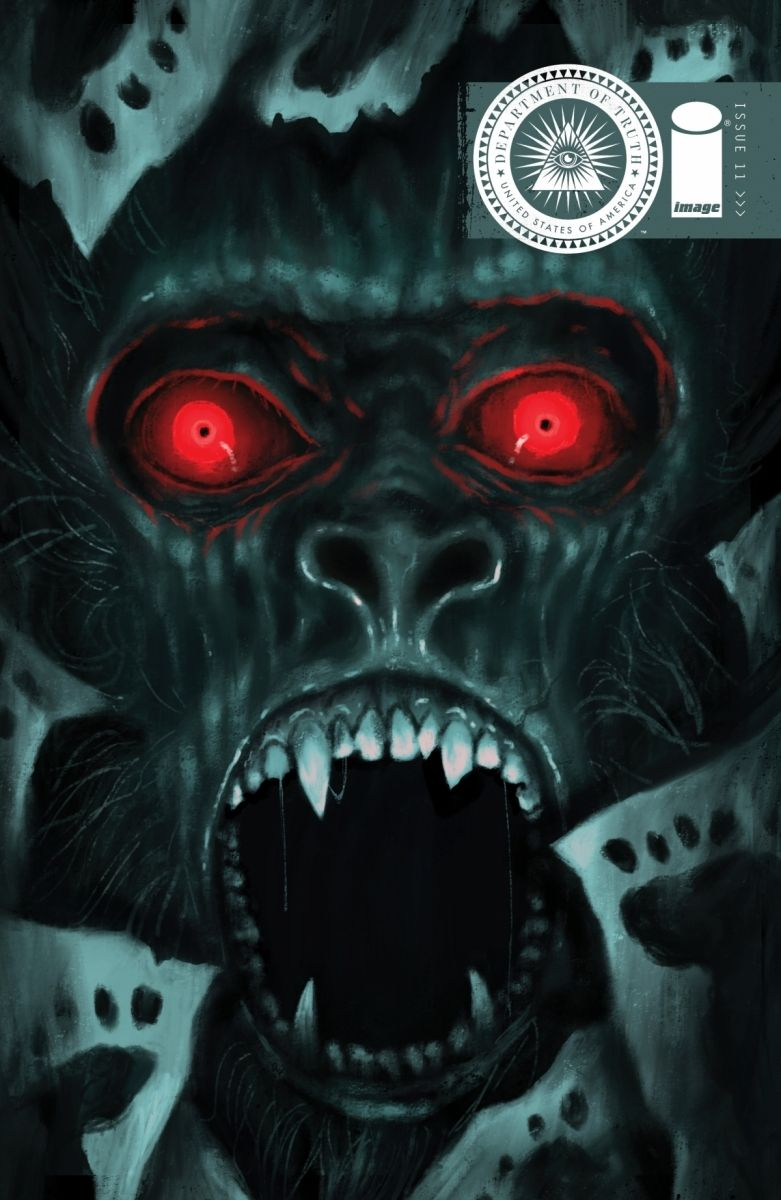 DeptOfTruth_Cover-11B_c6815a0147f8285e3b5042ebb3626151 Bigfoot is hunted in THE DEPARTMENT OF TRUTH this June