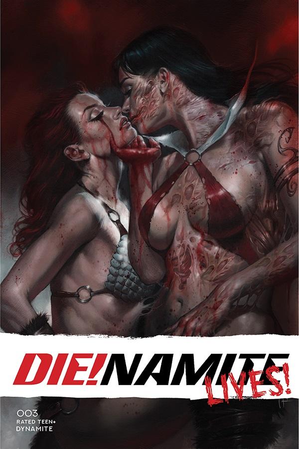 DinamiteLives-03011-A-Parrillo Dynamite Entertainment August 2021 Solicitations