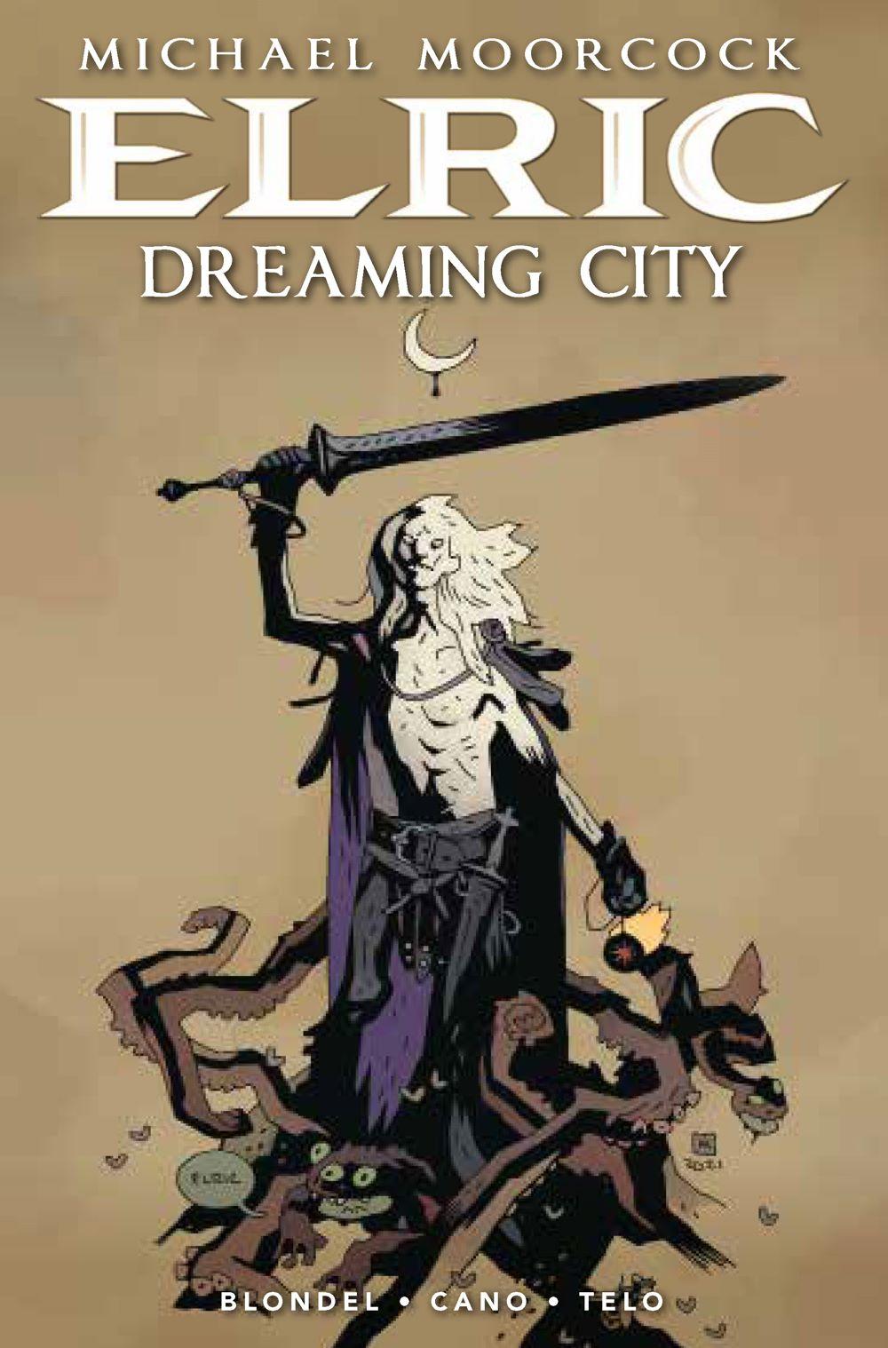 Elric_TheDreamingCity1_Cover_A Titan Comics August 2021 Solicitations