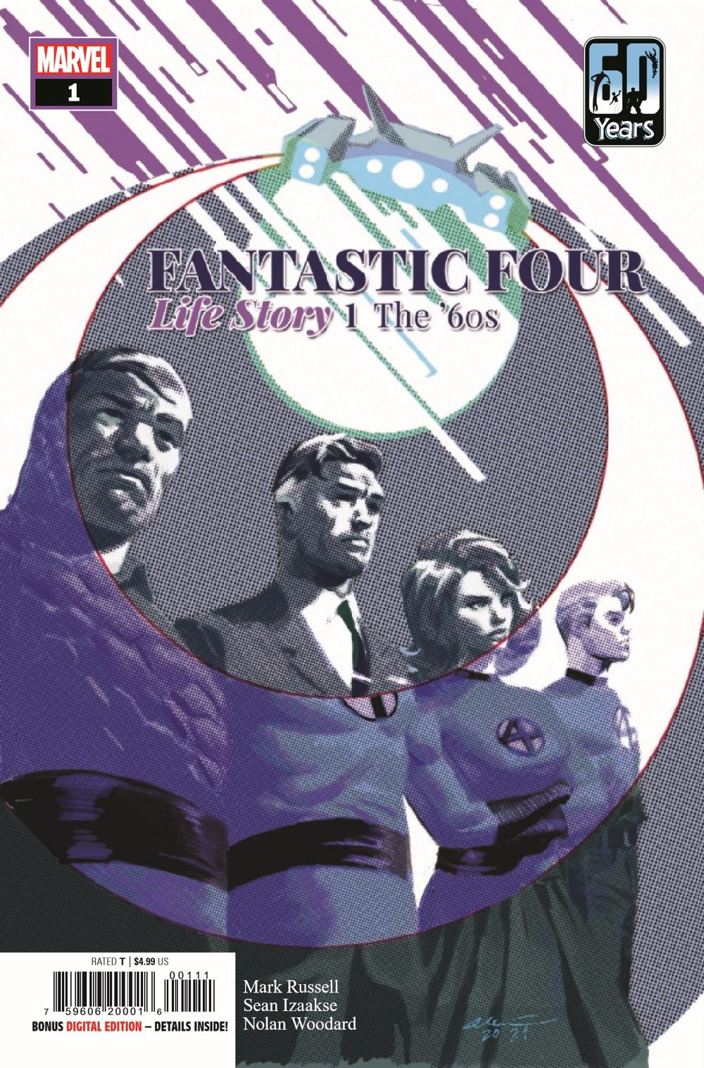 FFLIFESTORY2021001_Preview-1 ComicList Previews: FANTASTIC FOUR LIFE STORY #1 (OF 6)