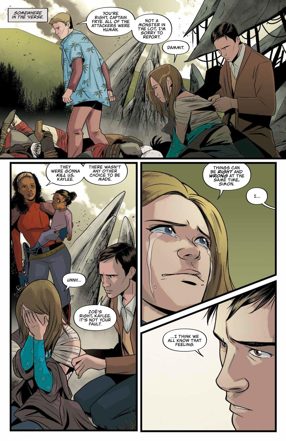 Firefly_029_PRESS_3 ComicList Previews: FIREFLY #29