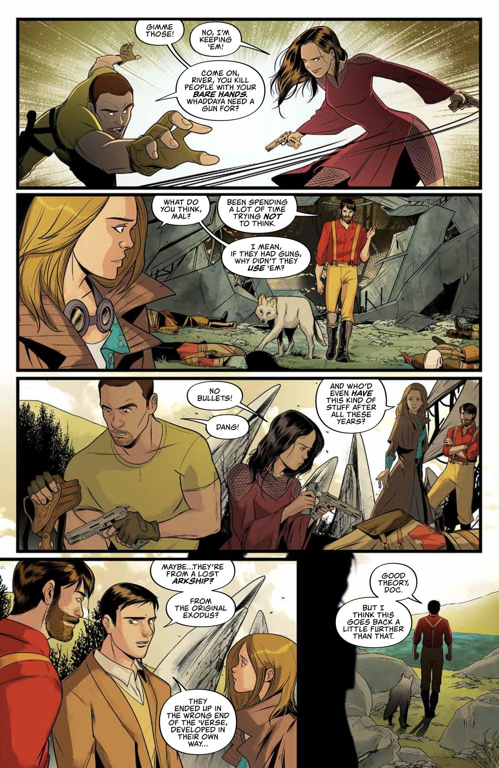 Firefly_029_PRESS_7 ComicList Previews: FIREFLY #29