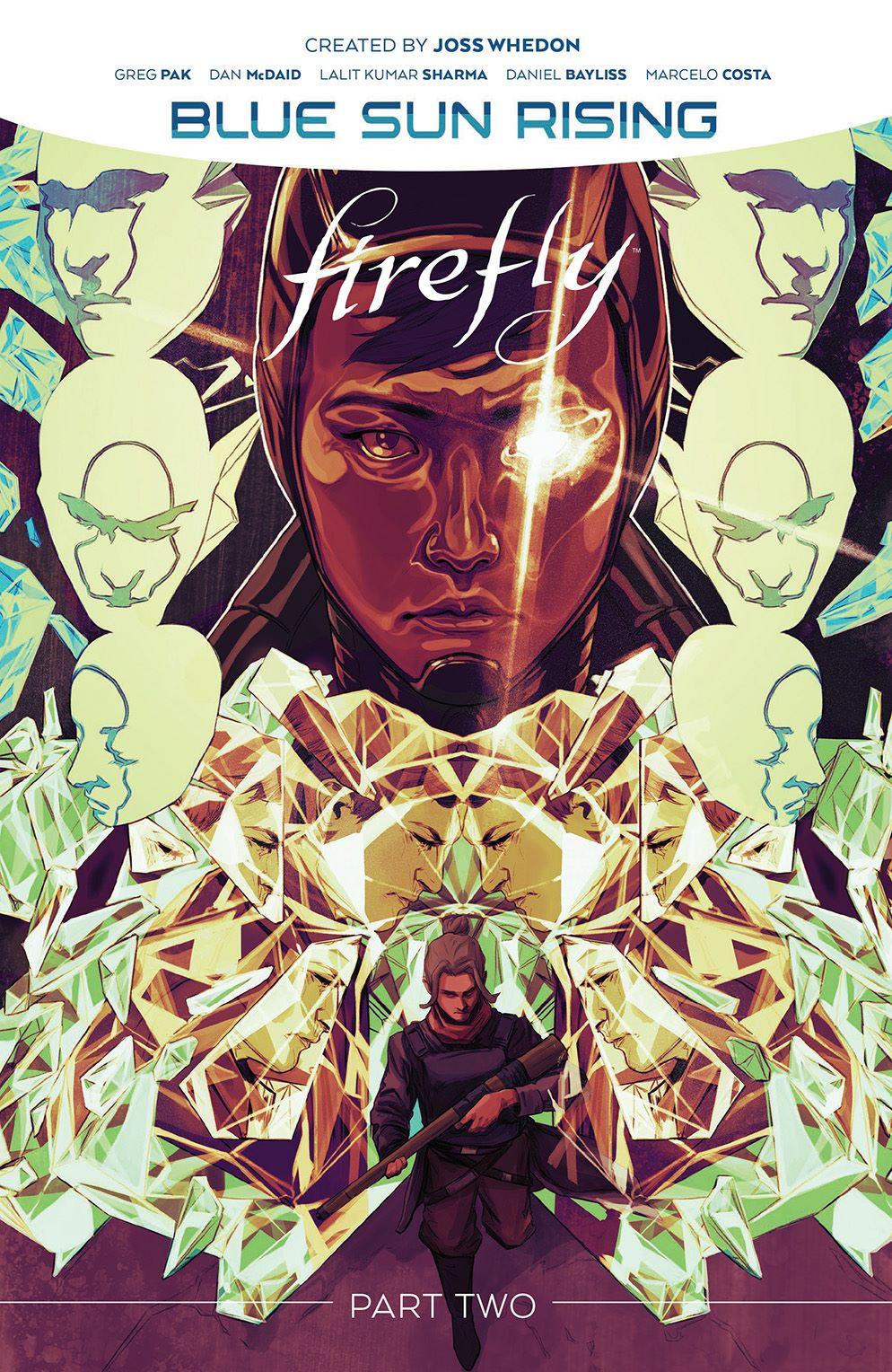 Firefly_BlueSunRising_v2_HC_Cover ComicList: BOOM! Studios New Releases for 05/12/2021