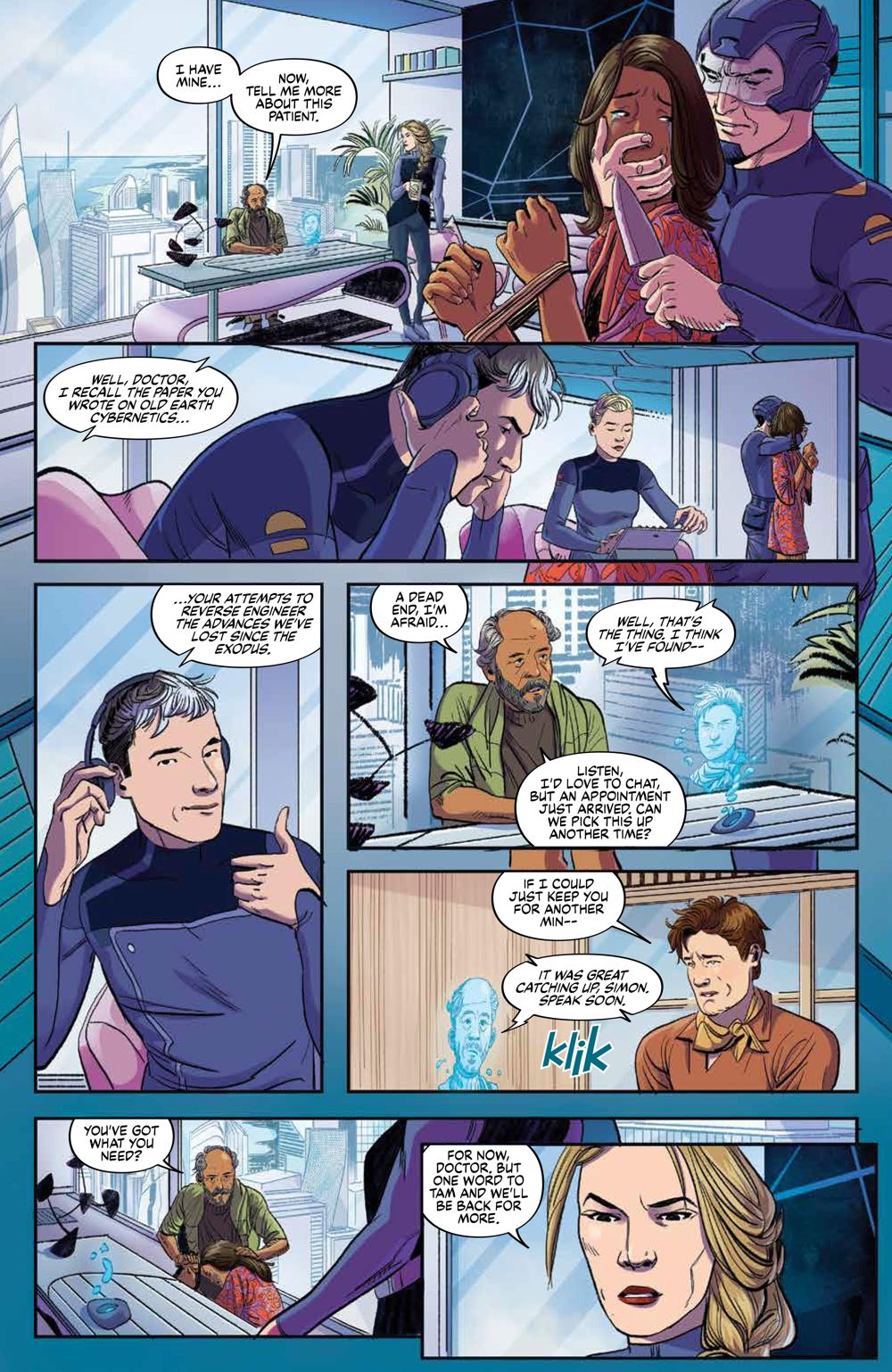 Firefly_BrandNewVerse_003_PRESS_8 ComicList Previews: FIREFLY A BRAND NEW 'VERSE #3 (OF 6)