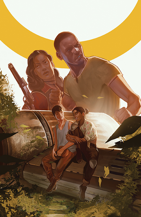 Firefly_BrandNewVerse_006_Cover_A_Main BOOM! Studios August 2021 Solicitations