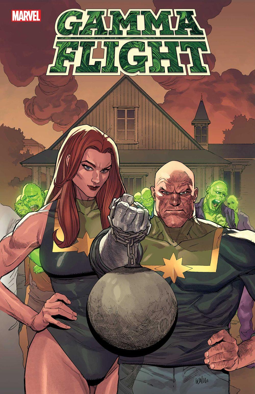GAMMAFLIGHT2021003_cvr Marvel Comics August 2021 Solicitations