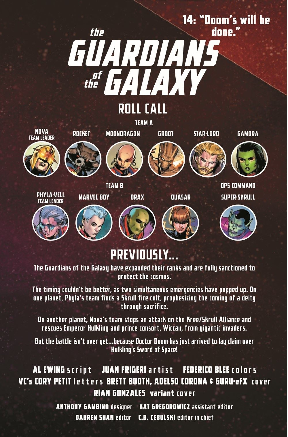 GARGAL2020014_Preview-2 ComicList Previews: GUARDIANS OF THE GALAXY #14