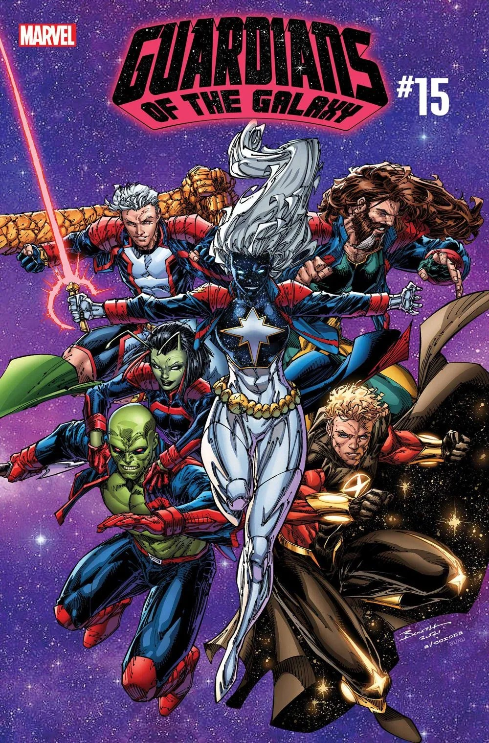 GARGAL2020015_cover First Look at GUARDIANS OF THE GALAXY #15 from Marvel Comics