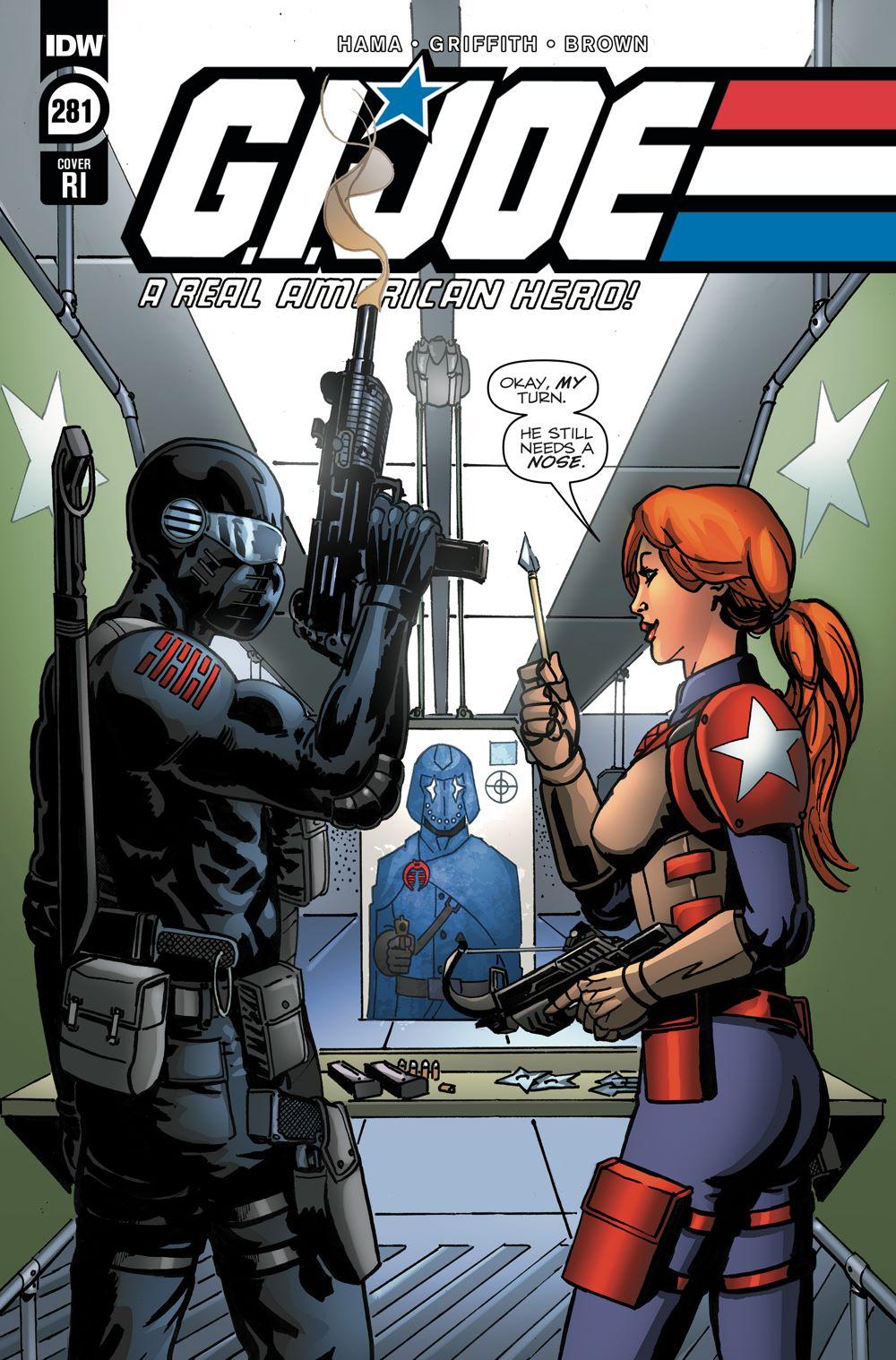 GIJoeRAH281-coverRI ComicList Previews: G.I. JOE A REAL AMERICAN HERO #281