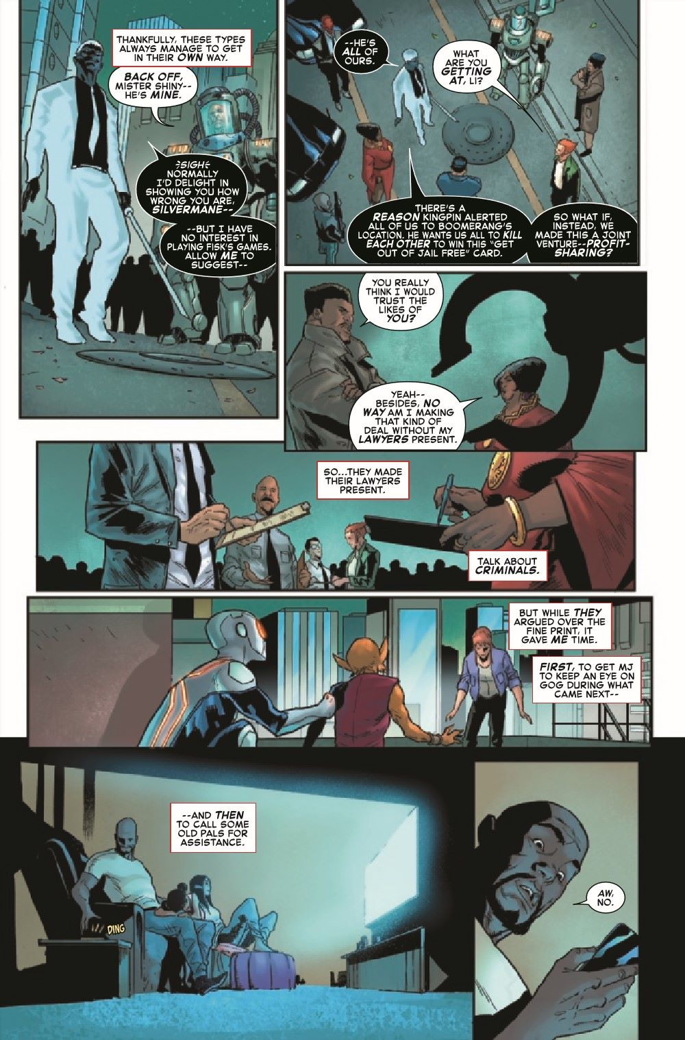 GSASMKINGR2021001_Preview-3 ComicList Previews: GIANT-SIZE AMAZING SPIDER-MAN KING'S RANSOM #1
