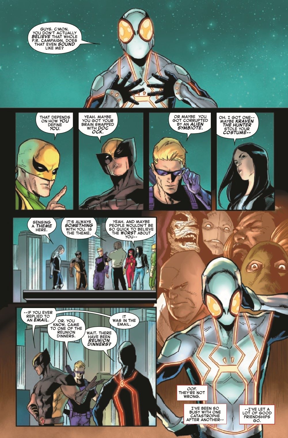 GSASMKINGR2021001_Preview-5 ComicList Previews: GIANT-SIZE AMAZING SPIDER-MAN KING'S RANSOM #1