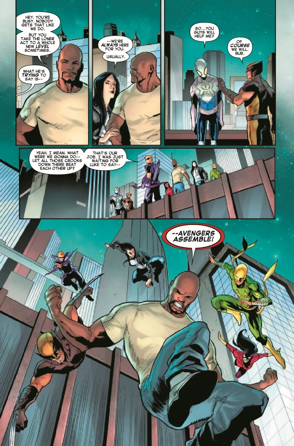 GSASMKINGR2021001_Preview-6 ComicList Previews: GIANT-SIZE AMAZING SPIDER-MAN KING'S RANSOM #1