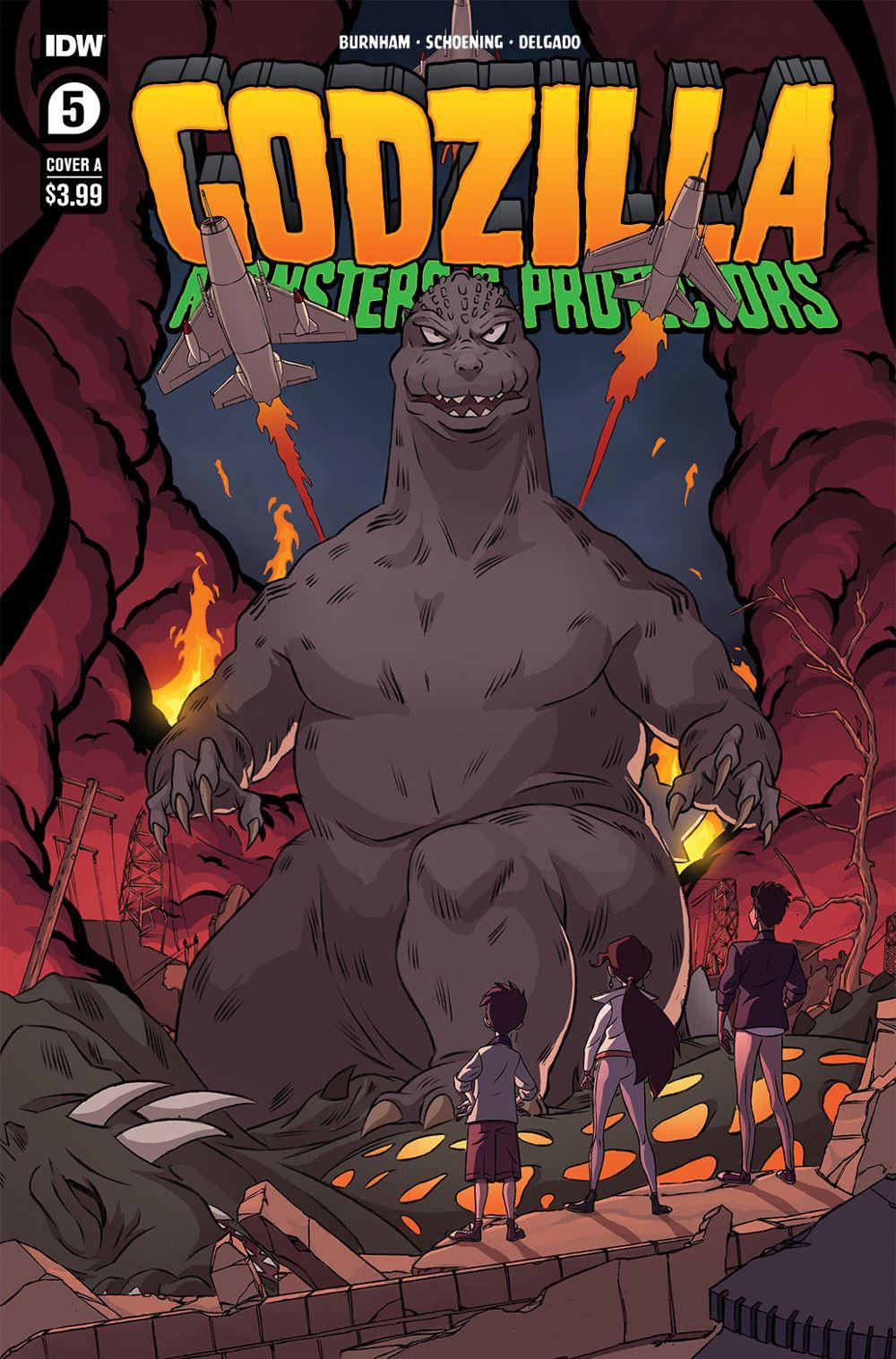 Godzilla_MP05-coverA-copy IDW Publishing August 2021 Solicitations