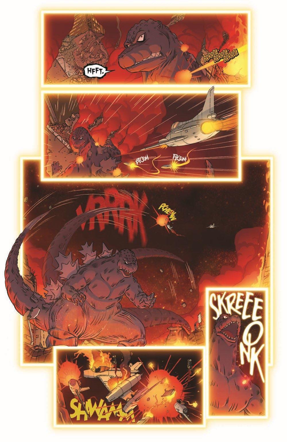 Godzilla_MnP_02_pr-7 ComicList Previews: GODZILLA MONSTERS AND PROTECTORS #2 (OF 5)
