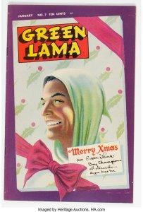 Green-Lama-7-203x300 Comic Trends & Oddballs: The Green Lama Lives!
