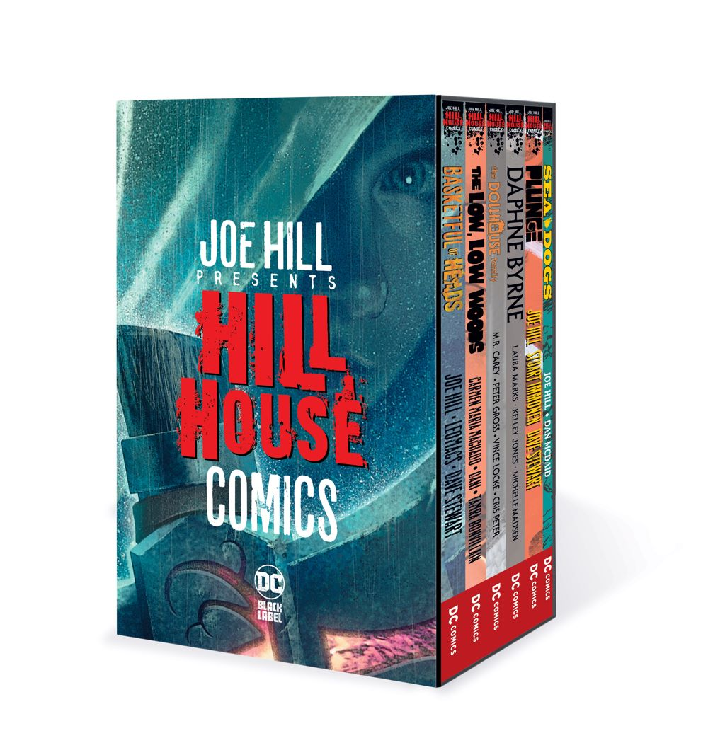 HILL_HOUSE_SLIPCASE_MOCKUP DC Comics August 2021 Solicitations