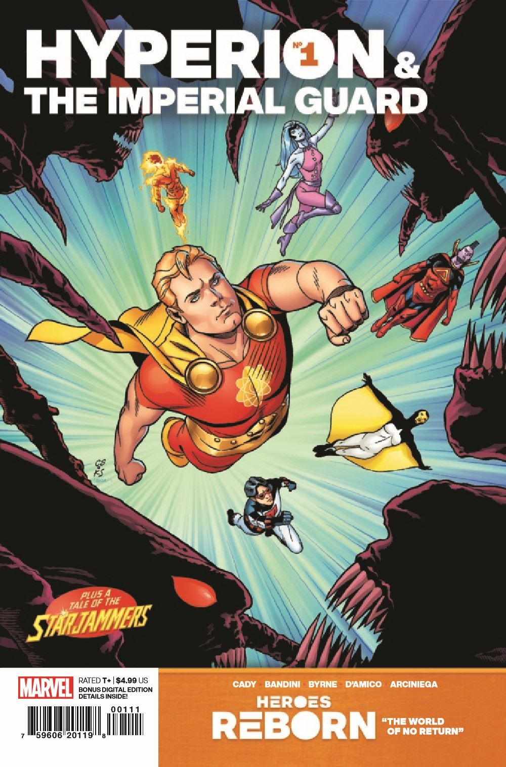 HRHYPIMPG2021001_Preview-1 ComicList Previews: HEROES REBORN HYPERION AND THE IMPERIAL GUARD #1
