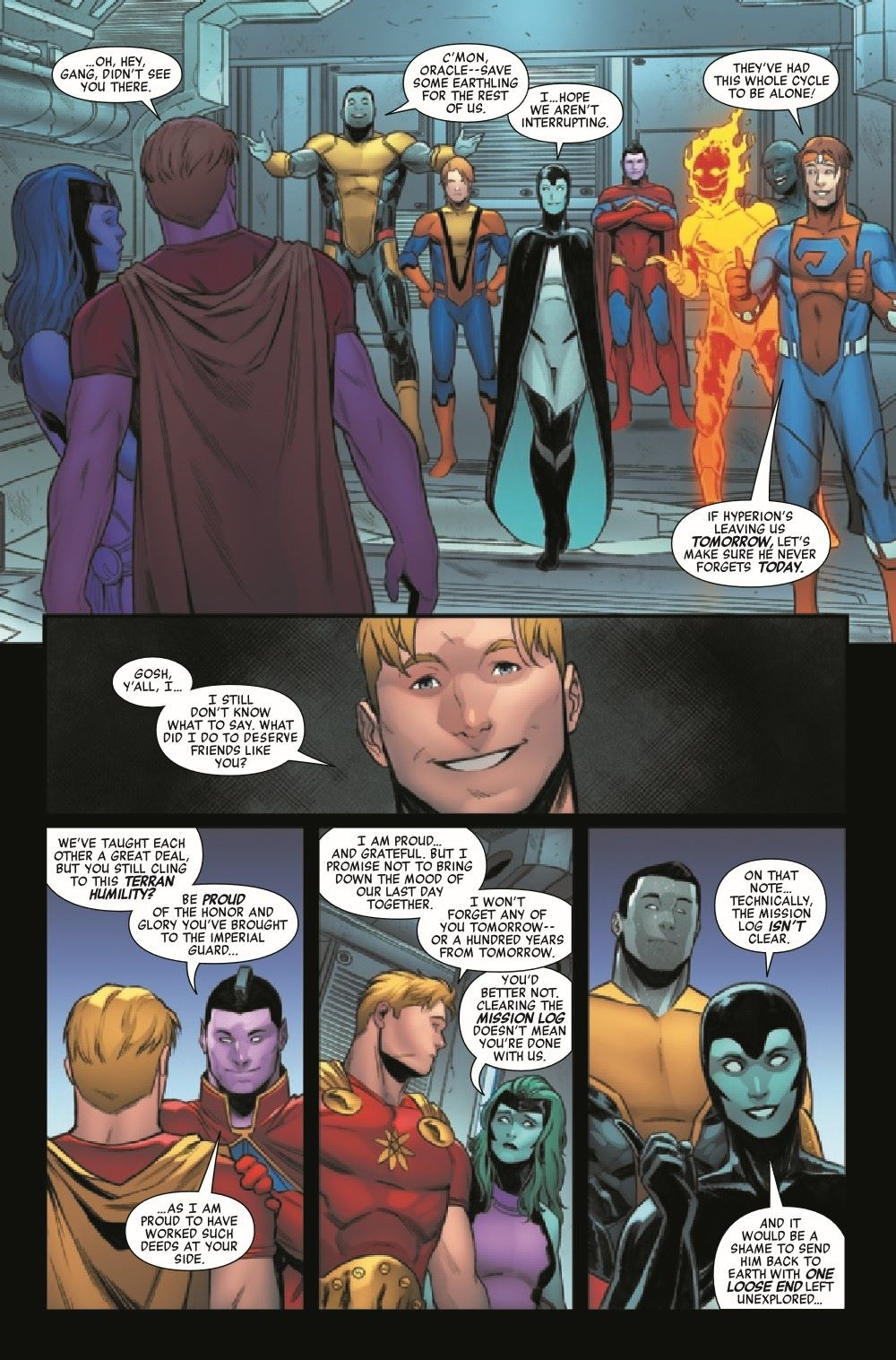 HRHYPIMPG2021001_Preview-5 ComicList Previews: HEROES REBORN HYPERION AND THE IMPERIAL GUARD #1