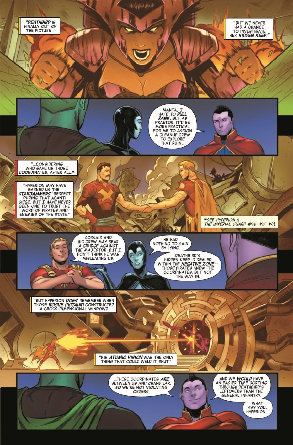 HRHYPIMPG2021001_Preview-6 ComicList Previews: HEROES REBORN HYPERION AND THE IMPERIAL GUARD #1