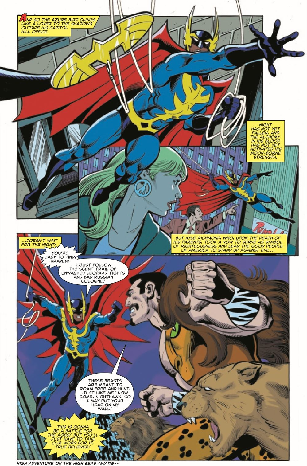 HRMARDOUBLEACT2021001_Preview-2 ComicList Previews: HEROES REBORN MARVEL DOUBLE ACTION #1