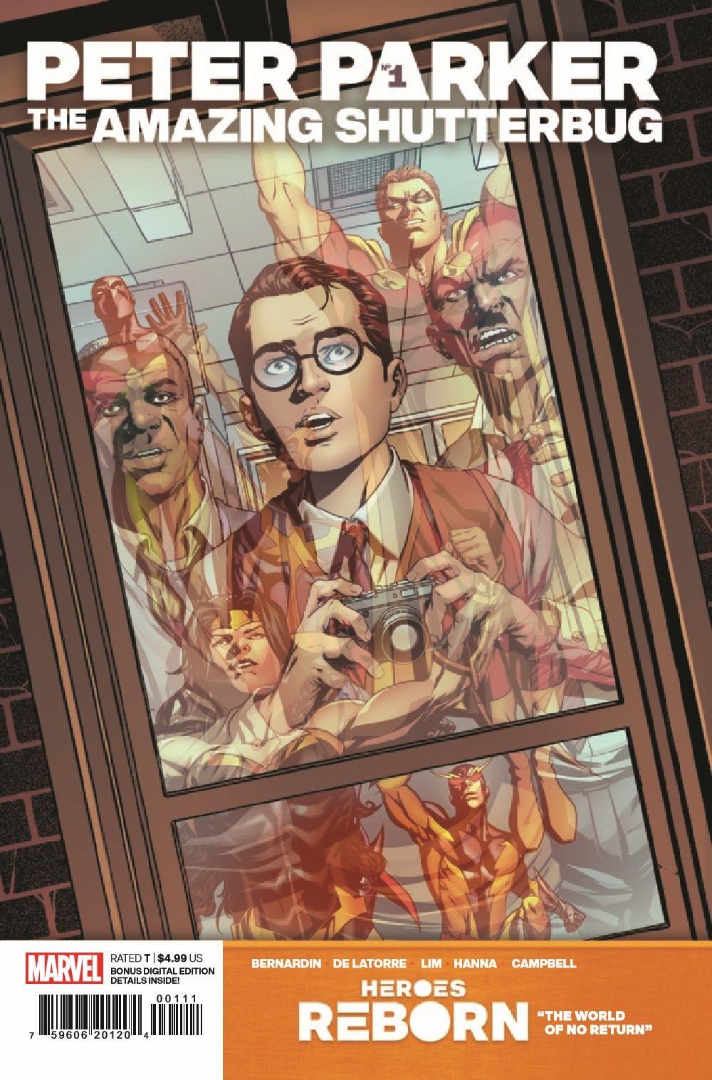 HRPPAMSHUT2021001_Preview-1 ComicList Previews: HEROES REBORN PETER PARKER THE AMAZING SHUTTERBUG #1