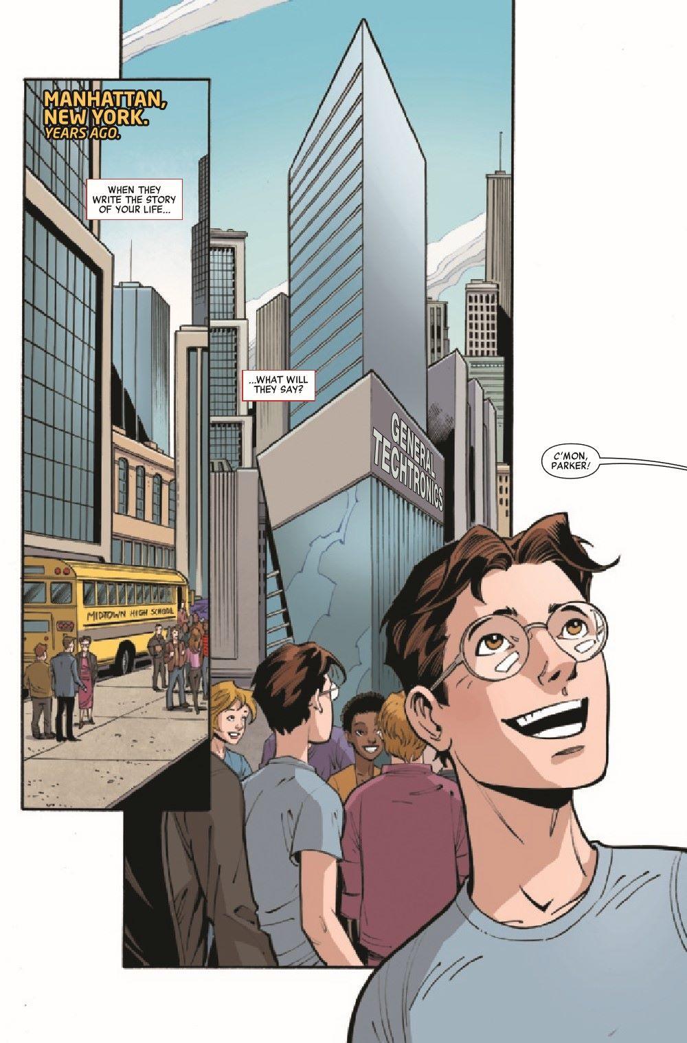 HRPPAMSHUT2021001_Preview-3 ComicList Previews: HEROES REBORN PETER PARKER THE AMAZING SHUTTERBUG #1