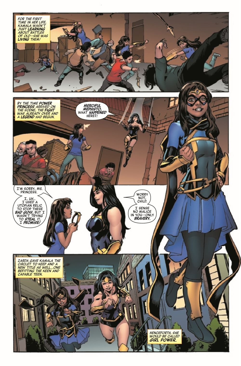 HRYOUNGSQ2021001_Preview-6 ComicList Previews: HEROES REBORN YOUNG SQUADRON #1