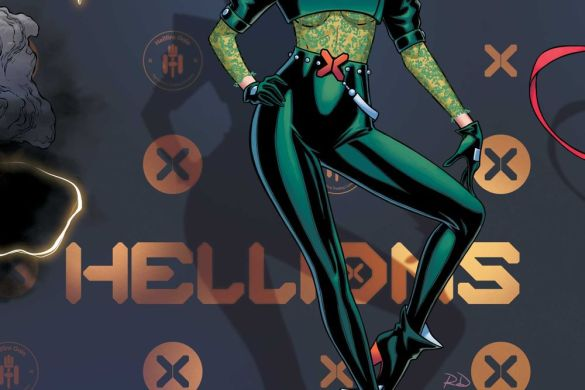 Hellions Russell Dauterman connects the Hellfire Gala covers this June