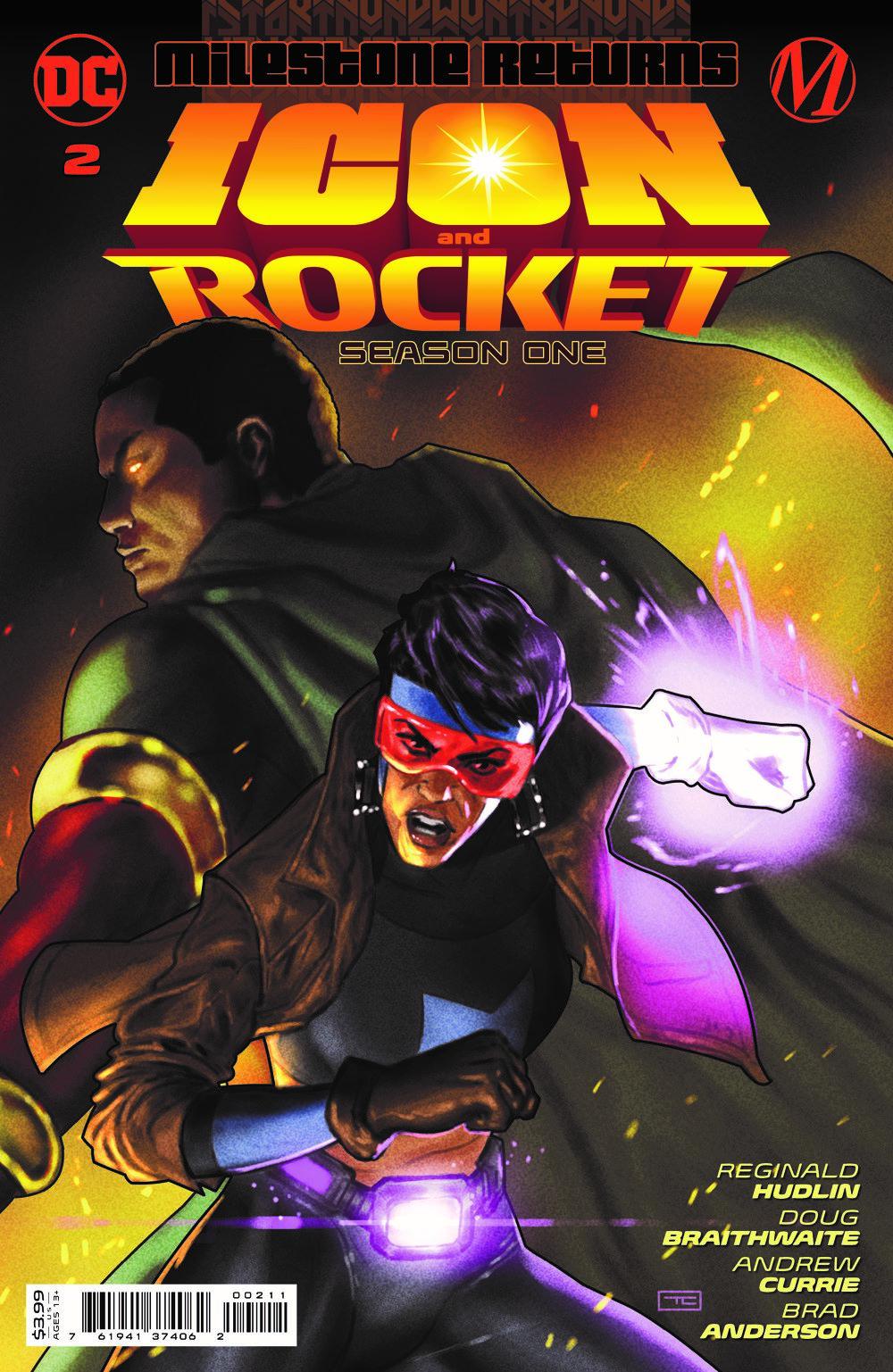 ICON_ROCKET_S1_Cv2 DC Comics August 2021 Solicitations