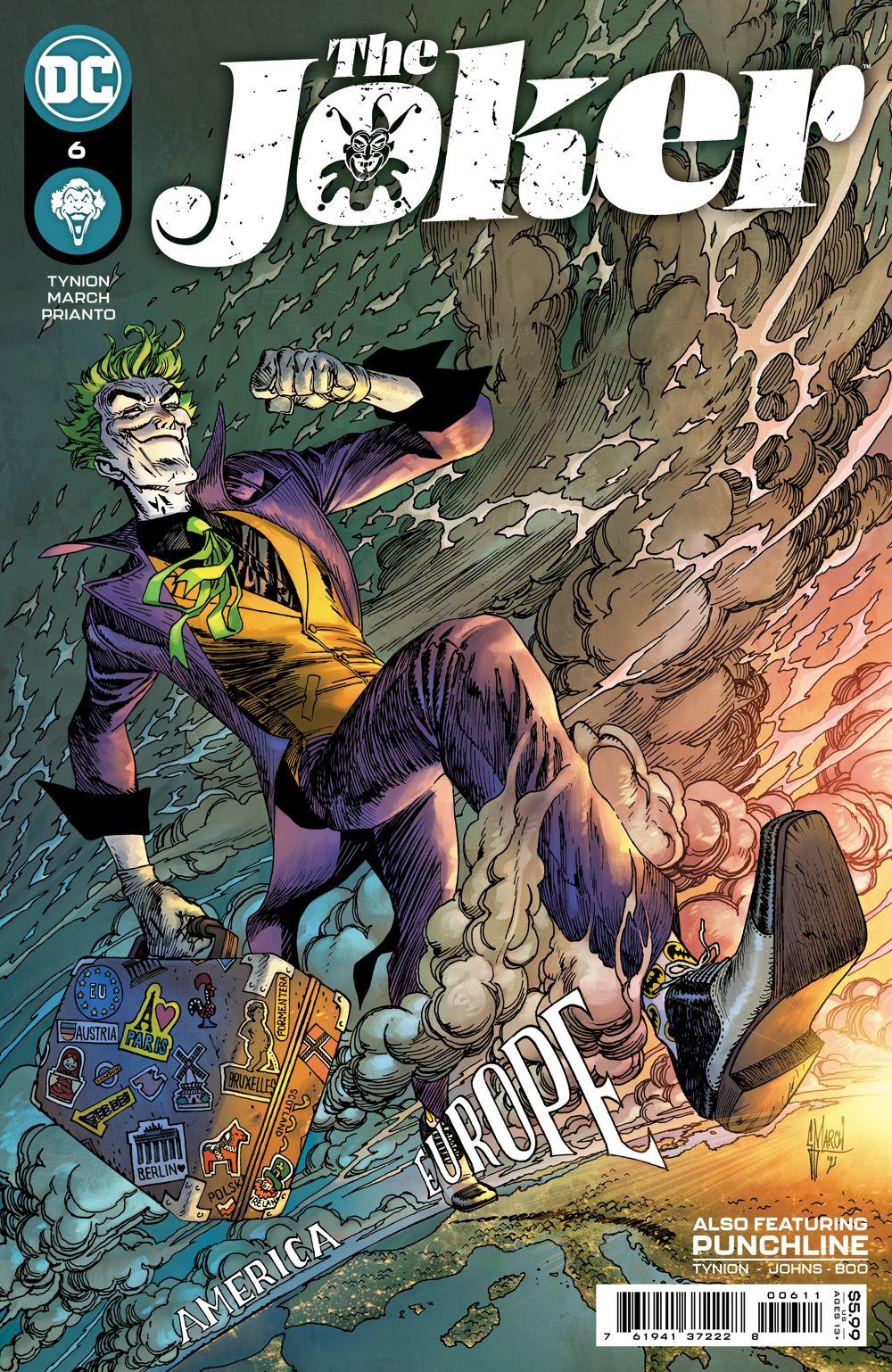 JKR_Cv6 DC Comics August 2021 Solicitations
