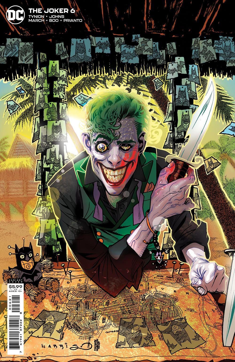 JKR_Cv6_var_00621 DC Comics August 2021 Solicitations