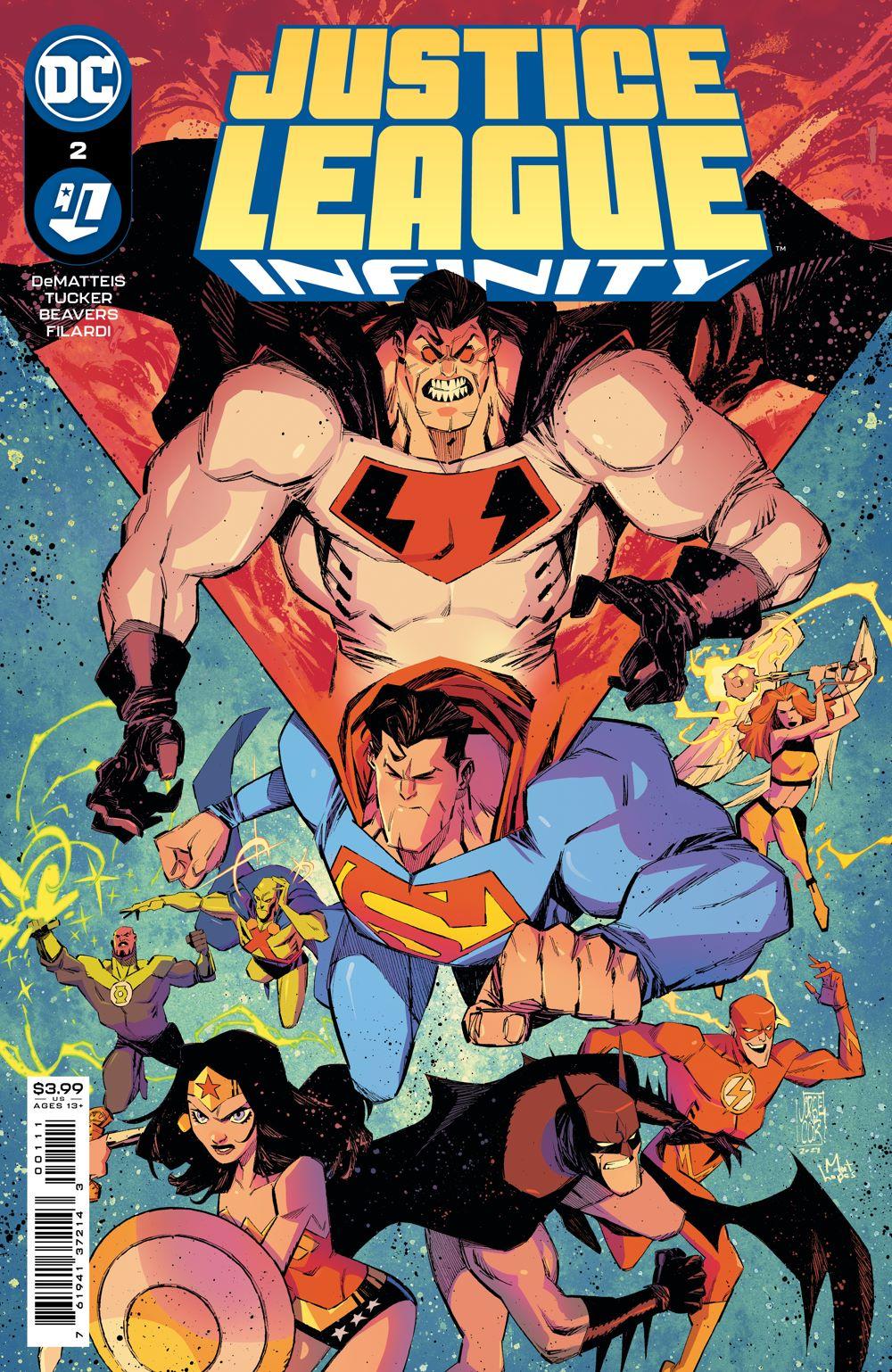 JLINFINITY_Cv2 DC Comics August 2021 Solicitations