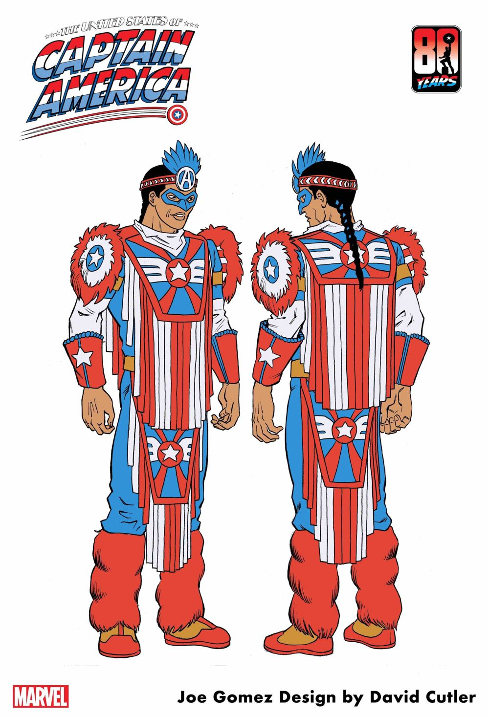 Joe-Gomez THE UNITED STATES OF CAPTAIN AMERICA #3 introduces Kickapoo Tribe character