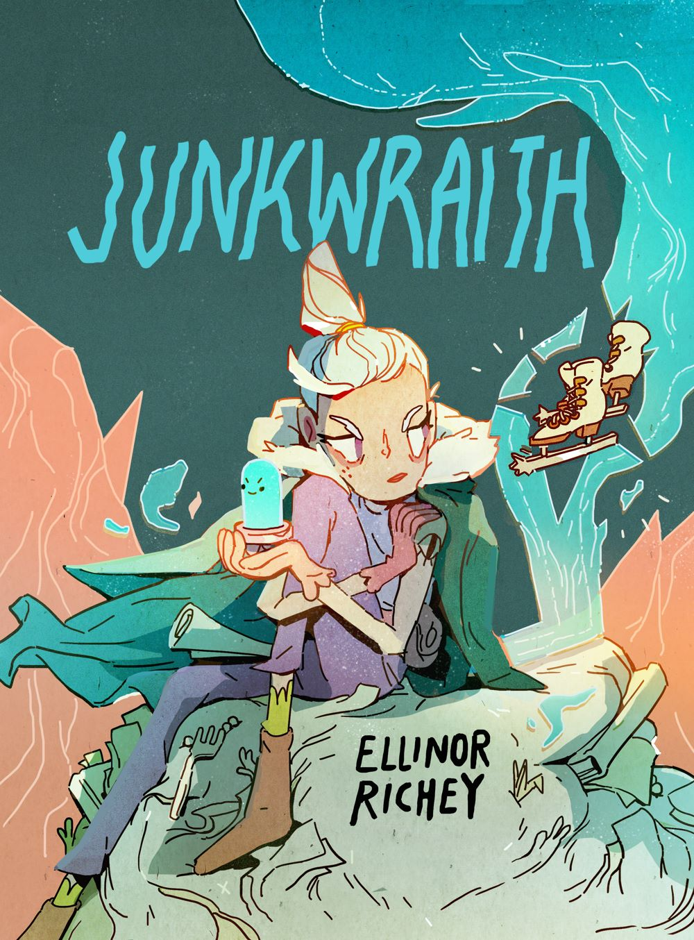 Junkwraith-COVER-hi-res IDW Publishing August 2021 Solicitations