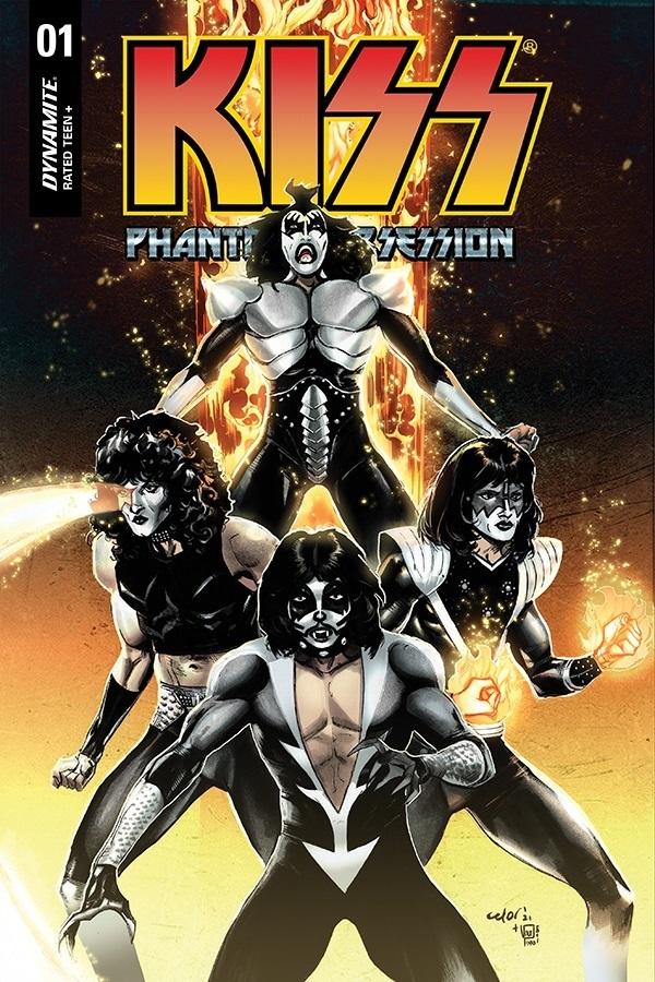KissPO-01-01041-D-Celor-1 Dynamite Entertainment August 2021 Solicitations